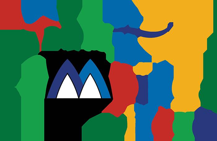 La scritta Abruzzo Camping Village