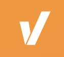 zoover logo una v bianca su sfondo arancione